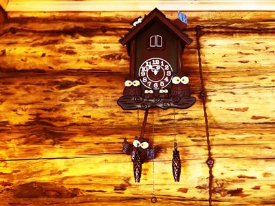 Избушка в аренду на Шарташе часы